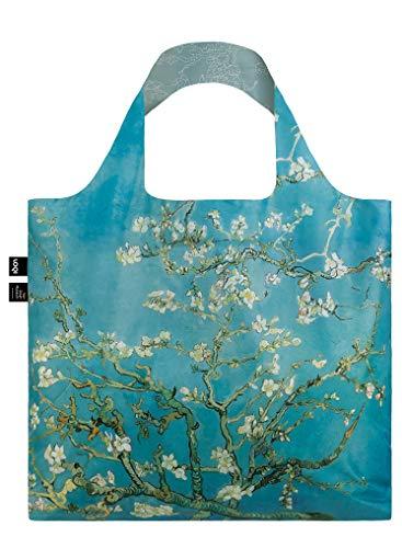 LOQI VINCENT VAN GOGH Almond Blossom Duo Bag - Borsa da viaggio, 50 cm, colore: Almond Blossom Duo