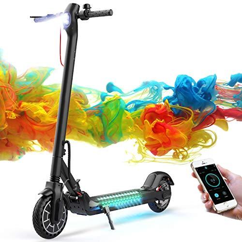 CITYSPORTS Elektroroller Faltbarer mit IOS & Android APP, E-Scooter 30 km/h & Null Startmodus & Tempomat & USB Power & Bluetooth verfügbar