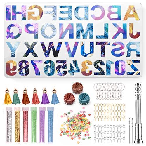 La Mejor Lista de Letras y números para artesanía , tabla con los diez mejores. 12