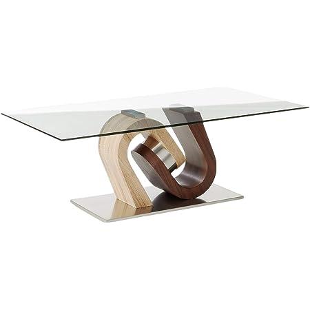 Amazon Com Global Furniture Usa Cocktail Table Silver Clear Furniture Decor