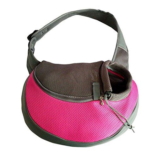 Preisvergleich Produktbild Hongfutong Tragbare Bequeme weiche Haustier-Tragetasche mit Schulterriemen für Hunde und Katzen,  Reisetasche,  Haustier-Rucksack