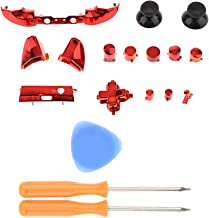 Baoblaze A B X Y Buttons Analog Stick D-Pad Bumpers Triggers Mod Kit + T6/T8 Screwdriver for Microsoft Xbox One S Controll...