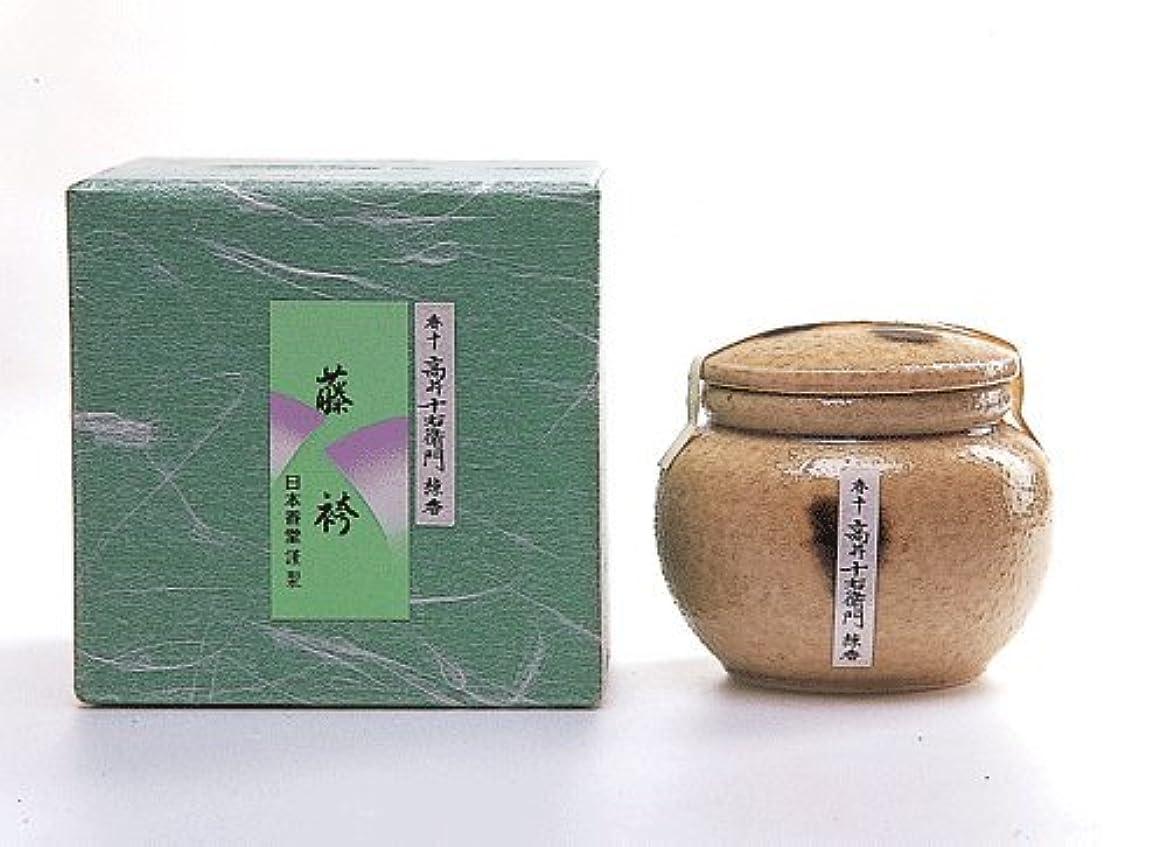 会議ためらう専門用語高級感ある香り 香十練香「藤袴」 壷入