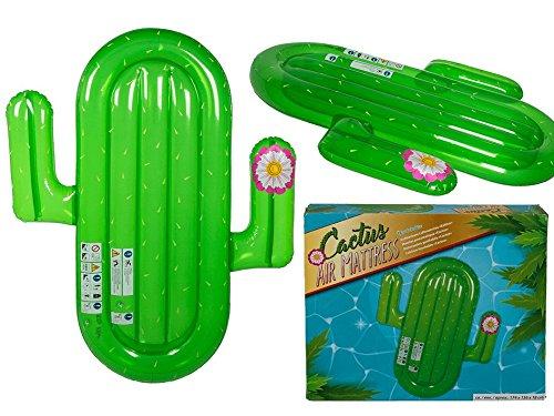 OOTB Aufblasbare Luftmatratze, Kaktus, grün, One Size