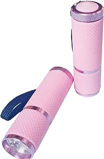 Nail UV Mini lámpara LED antorcha secador ligero portátil de uñas de secado rápido en gel de uñas rosa accesorio de la lámpara de curado