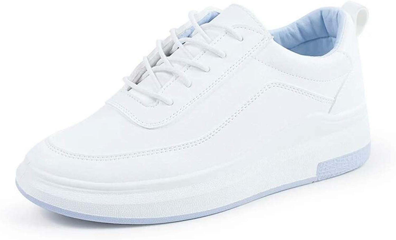 Btrada Women Hidden Heels Platform Wedges Sneakers Fashion Female Casual Lace Up Walking Running shoes