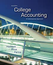College Accounting: A Contemporary Approach
