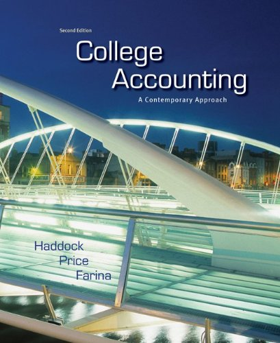 Download College Accounting: A Contemporary Approach 0073396958