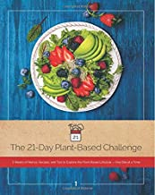 The 21-Day Plant-Based Challenge: 3 Weeks of Menus, Recipes, and Tips to Explore the Plant-Based Lifestyle, One Bite at a Time