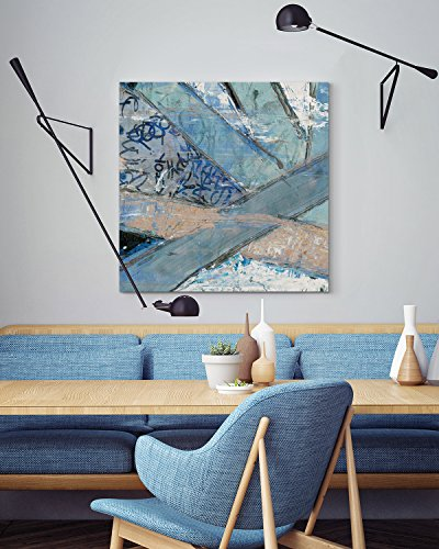 Paul Sinus Art Survival - 60x60cm Wandbild modern zeitlos und stilvoll