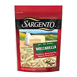Sargento Shredded Mozzarella Cheese - Traditional Cut, perfect for Italian classics like pizza and l