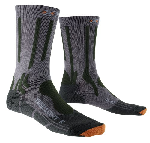 X-Socks Trekking Light Herrensocken, Herren, Socken, grau, 42-44