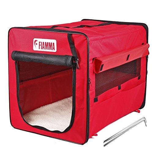 Fiamma Carry Dog Wohnwagen Hundehütte rot 75x49x55 inkl Tragetasche