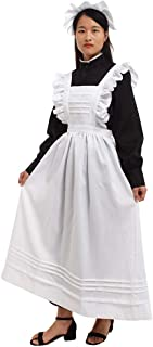 victorian dress with apron