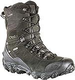 Oboz Bridger 10' Insulated B-DRY Hiking Boots - Men's Carbon Black 14