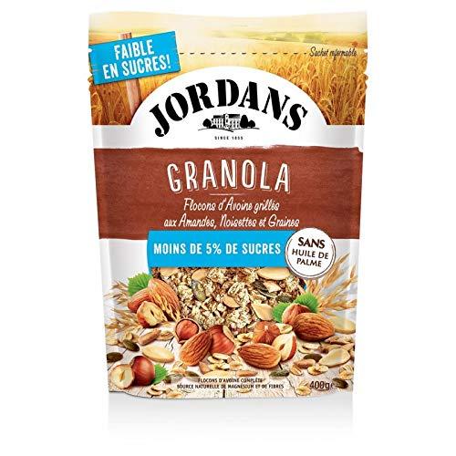 Granola - Jordansnoisiette Y Semillas - 5% 400G De Azúcar - Lot De 3 - Precio Por Lote - Entrega Rápida