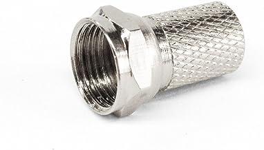 F型接栓4C用ネジ式 衛星放送・地デジ対応(4C接栓・同軸ケーブル用)1587 (10個)