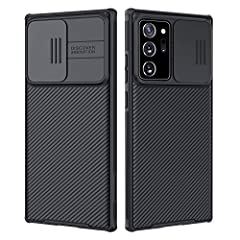 Nillkin CamShield Series Case with Slide Camera Cover for Samsung Galaxy Note 20 Ultra Unique Design: Slide Camera Cover to protect the camera from scratching, 0.2mm lifted bezel for camera protection. Advanced Technology: Processd by advance technol...