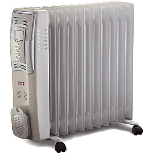 Bionaire 2.5kw Portable Large Oil Filled Radiator Electric Home Office Heater