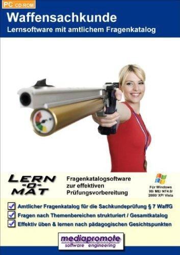 Lern-o-Mat Waffensachkunde - Lernsoftware mit amtlichem Fragenkatalog