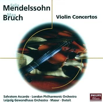 Mendelssohn: Violin Concerto/Bruch: Violin Concerto; Konzertstück