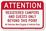 3M AUTHORIZED. Official 3M reflective films and inks on durable, rustproof aluminum ensure that our signs meet all DOT requirements for outdoor parking and traffic signs. DURABLE ALUMINUM. Heavy-duty rustproof aluminum has a 10-year outdoor durabilit...