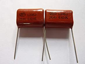 20Pcs CBB CBB22 Metallized Film Capacitor 2uF 205J 630V