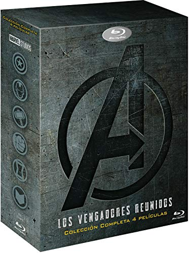 Pack: Vengadores 1-4 [Blu-ray] ⭐
