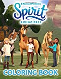 Spirit Riding Free Coloring Book: Exclusive Coloring Book Of Spirit Riding Free Theme For All Children And Adults Having Many Hours Of Enjoyment, Excitement, Relaxation And Happiness