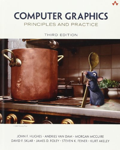 Compare Textbook Prices for Computer Graphics: Principles and Practice 3 Edition ISBN 8601421973663 by Hughes, John,van Dam, Andries,McGuire, Morgan,Sklar, David,Foley, James,Feiner, Steven,Akeley, Kurt