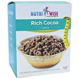 NutriWise - Rich Cocoa | Breakfast Diet Cereal | High Protein | Low-Carb, Low Fat, Low Sugar (7/Box)