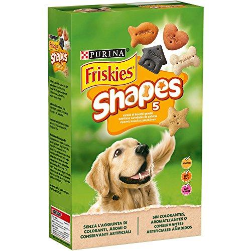Purina Friskies Shapes galletas para perros 6 x 800 g ✅