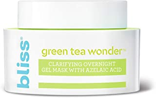 Best Green Tea Wonder Clarifying Overnight Gel Mask with Azelaic Acid, Deep Cleans and Visibly Tightens Pores, Made Without Parabens and Sulfates Cruelty-Free, Vegan, 1.7 oz Review