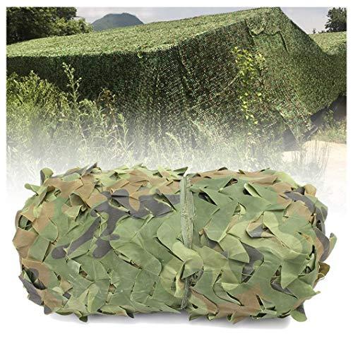 Tarnnetz 2x3m 8m 10m Isolationsplane Sonnenschutz Mesh Sonnenschutz Oxford Stoff Markise Camo Sonnenschutznetz für Jagd Outdoor Camping Verstecken Zeltabdeckung Green Garden Dekoration ( Size : 4x8m )