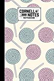 Cornell Notes Notebook: Cornell Notes Notebook Candies Cover, College Ruled Medium Lined Journal: Elegant Roses Watercolor Cornell Note Paper Workbook ... Note Taking | Perfect Size 6 x 9 Inches
