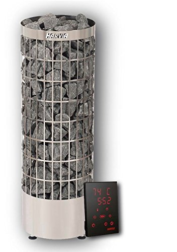 Harvia Cilindro Saunaofen PC90E 9 KW inkl. Xenio Saunasteuerung 100 kg Saunasteine