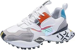 Women Casual Sneaker Ultra Lightweight Mesh Gym Running Walking Tennis Shoes Trekking Travel Shoes,Beige,37