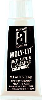 Moly-LIT 12003 Molydbenum Disulfide and Graphite Anti-Seize Compound, 3 oz, Black, Paste