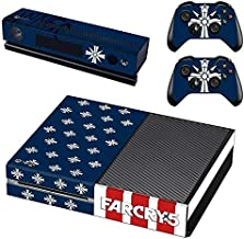 Mr Wonderful Skin Protective Vinyl Skin Decal Cover for Xbox One Console Wrap Sticker Skins with Two Free Wireless Controller Decals Shooter game