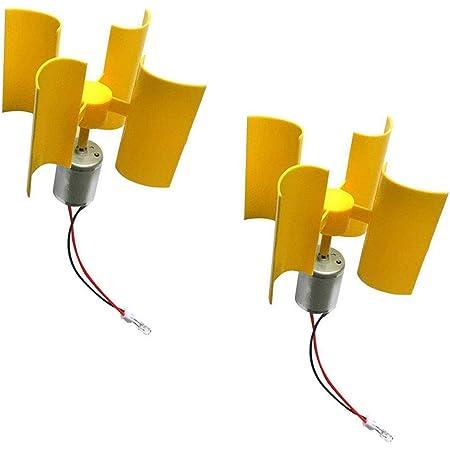 Fydun Vertical Wind Generator DIY Kit Small Motor Wind Turbines Breeze Electricity Generator