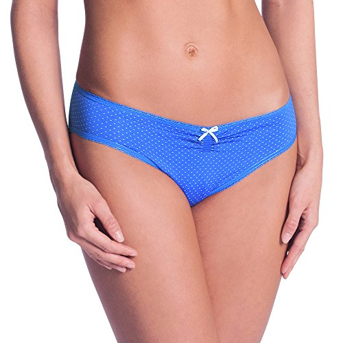 Anita Maternity Schwangerschafts-Slip, Pantalon de Pyjama pour Femme Enceinte Blau (Ocean Blue 338), 42