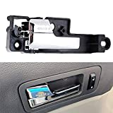 Wadoy 6E5Z5422601A Interior Door Handle Front Left (Driver-Side) Chrome Compatible with 2006-2010 Ford Fusion / 2007-2010 Lincoln MKZ / 2006 Lincoln Zephyr / 2006-2010 Mercury Milan (Replaces 6E5Z-5422601-A)