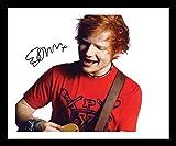 Ed Sheeran Signiert und gerahmt Foto
