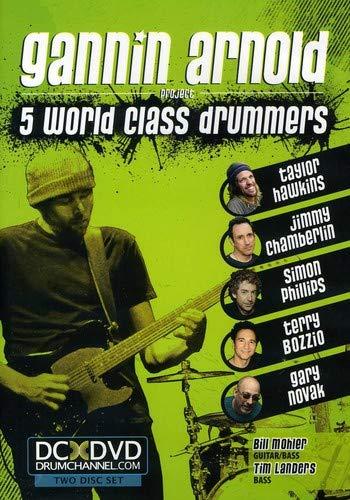 5 World Class Drummers Reino Unido DVD