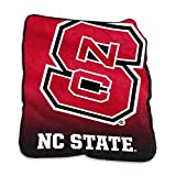 Logo Brands NCAA North Carolina State Wolfpack Raschel Throw, One Size, Team Color