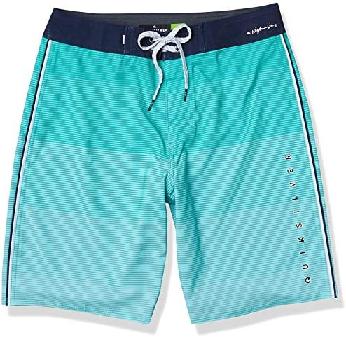 Quiksilver Men s Highline Massive 20 Inch Outseam Stretch Boardshort Swim Trunk Pool Green 36 product image