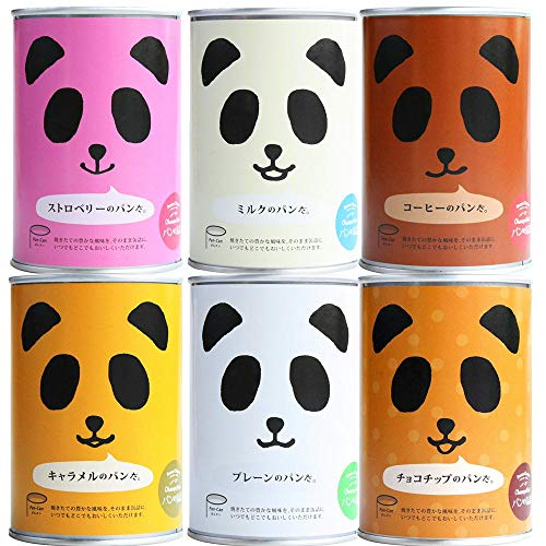 【2セット】パンの缶詰 パンだ缶 全種バラエティーセット 6缶