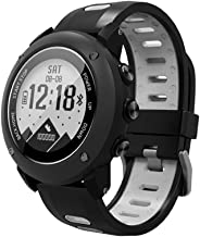 SoonCat GPS Watch for Men, Running Smart Watch All Black Military Men's Outdoor Sports Watch (Grey)