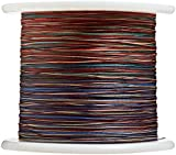 Woodstock 15-pounds con Lead Core Pesca línea, Multicolor