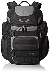 Built with compartments for your laptop, shades, and much more, this utilitarian pack lets you bring it all along for the ride Plus, this premium Oakley backpack is made from super-durable fabric to keep your gear protected and features exterior skat...